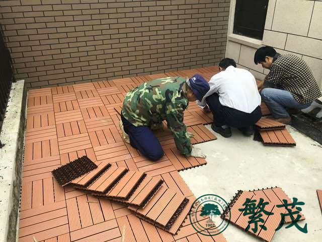 苏州工业园区某别墅屋顶花园设计施工案例
