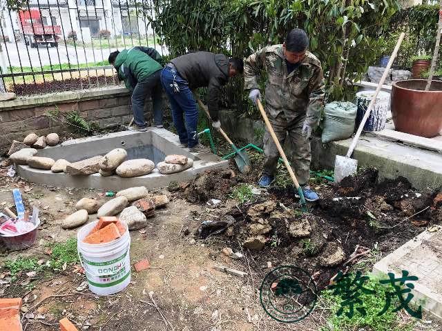 苏州临湖某别墅庭院景观设计施工案例