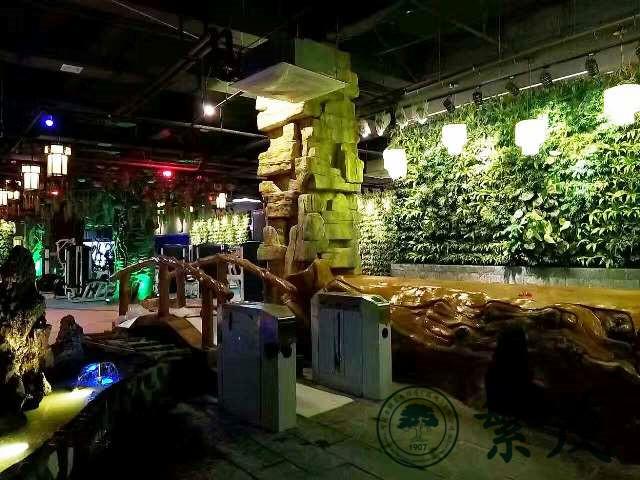 合肥第五季健身会馆立体植物墙案例